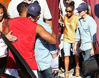 Pictures of Tom Cruise, Will Smith, Jada Pinkett Smith At Meeting in Hollywood