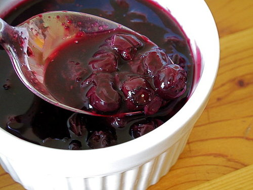 Fast, Easy Recipe For Blueberry Sauce