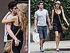 Pictures of Blake Lively and Penn Badgley Making Out in NYC