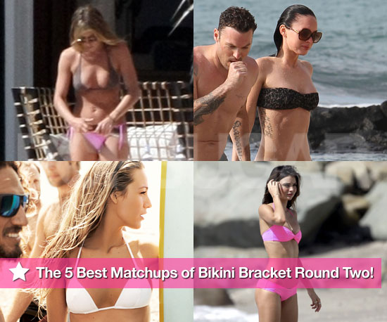 Bikini Pictures of Blake Lively, Miranda Kerr, Megan Fox, Jennifer Aniston and More In Bikini Bracket