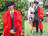 Pictures of Orlando Bloom Getting an Honorary Degree From the University of Kent