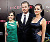 Slide Picture of Ellen Page and Marion Cotillard with Leonardo DiCaprio at LA Premiere of Inception