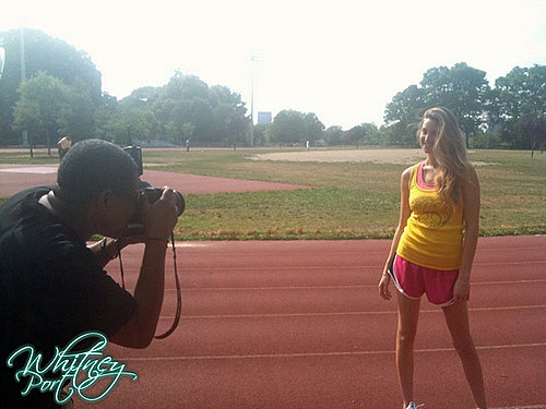 Pictures of Whitney Port Working Out in OK Magazine