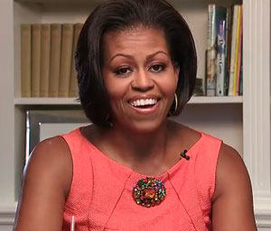 Michelle Obama Discusses Let's Move! and How They Encourage Balance When It Comes to Eating