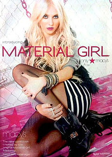 PopSugar Poll: Taylor Momsen Revealed as the Face of Madonna's Material Girl Line — Perfect Fit, or Over It?