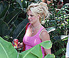 Slide Picture of Britney Spears Going to Studio in LA