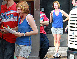 Pictures of Michelle Williams Filming Take This Waltz