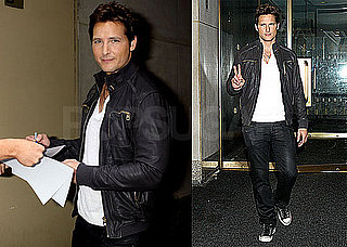 Pictures of Peter Facinelli at The Today Show in NYC