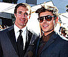 Slide Picture of Zac Efron and Drew Brees at ESPYs in LA