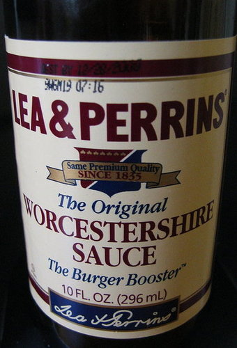 Worcestershire is a must.