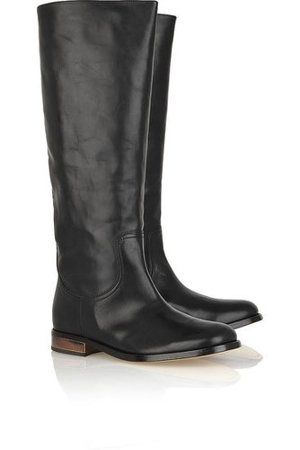 Maison Martin Margiela | Knee-high leather boots | NET 1040