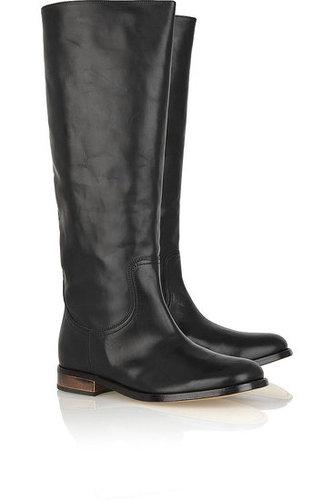 Maison Martin Margiela|Knee-high leather boots|NET 1040