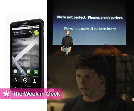 Top News and Stories This Week on GeekSugar 2010-07-17 04:00:23