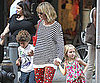 Slide Picture of Heidi Klum in NYC With Kids Henry and Leni
