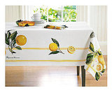 Botanical Lemon Tablecloth