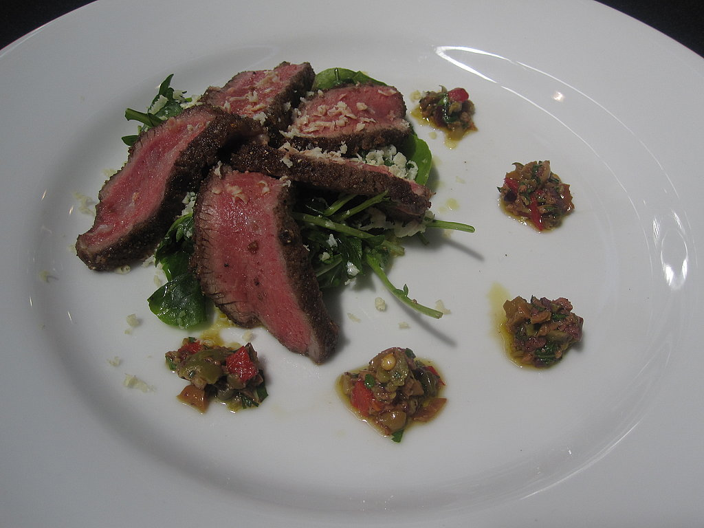 This interesting spiced lamb loin was a favorite of my cojudge Jay Barmann of Grub Street.