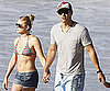 Slide Picture of LeAnn Rimes in Bikini and Eddie Cibrian in Malibu