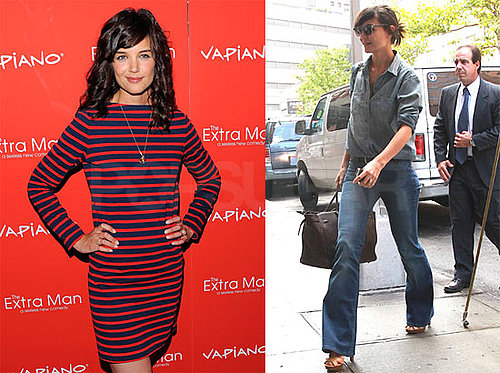 Pictures of Katie Holmes in NYC For a Screening of The Extra Man