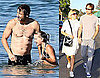 Photos of Shirtless David Duchovny at the Beach