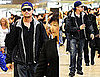 Inception's Leonardo DiCaprio Arriving in Japan