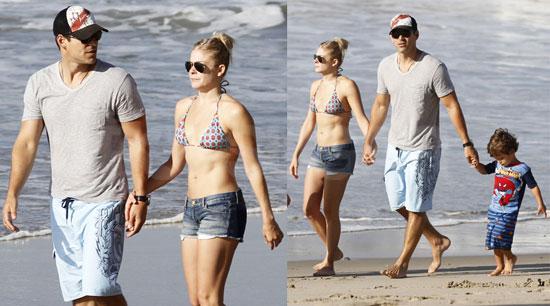 - Pictures-LeAnn-Rimes-Beach-Bikini-Eddie-Mason-Jake-Cibrian