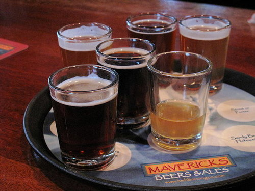 Photos of Beer and Seafood at Half Moon Bay Brewing Company