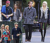 Photos of Gossip Girl Kids Hanging Out Over The Weekend 2009-10-05 13:30:26