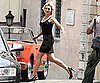 Slide Picture of Kate Winslet Filming in Rome