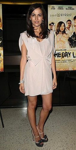 Pictures of Camilla Belle in Pink Dress