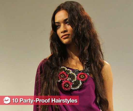 10 Party-Proof Hairstyles
