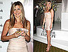 Pictures of Jennifer Aniston Promoting Her New Scent Jennifer Aniston at Harrod's