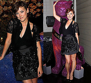 Pictures of Jessica Stroup at Mulberry Party in LA