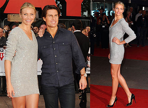 Pictures of Tom Cruise and Cameron Diaz Promoting Knight and Day in London