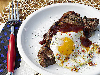 Food Network Recipe For Grilled Steak and Eggs With Beer and Molasses