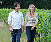 Slide Picture of Tom Cruise and Cameron Diaz in France