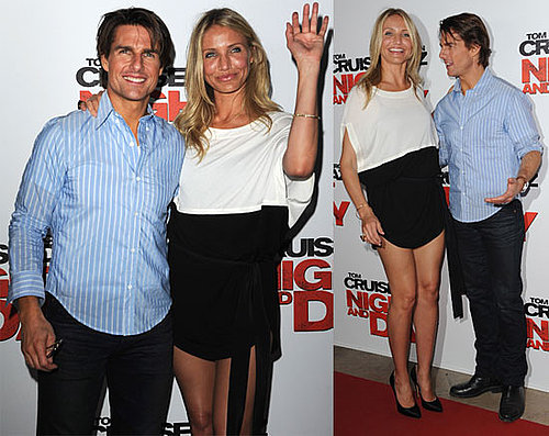 Pictures of Tom Cruise and Cameron Diaz Premiering Knight and Day in France 2010-07-23 15:00:00