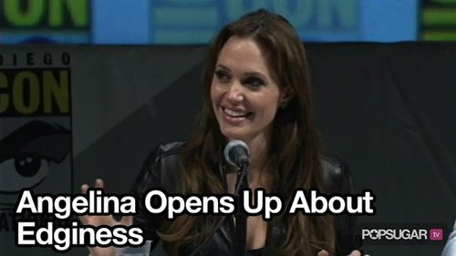 Video of Angelina Jolie at Comic-Con