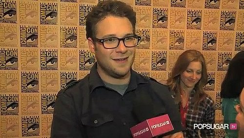 Video of Seth Rogen at Comic-Con For The Green Hornet