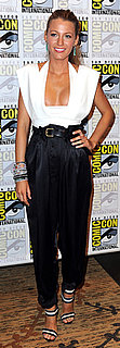 Blake Lively Wears Preen at Comic-Con