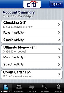 Citibank iPhone App Security Flaw