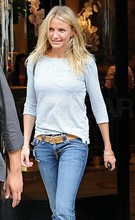 Cameron Diaz Carries a Chanel Bag While Shopping in Paris