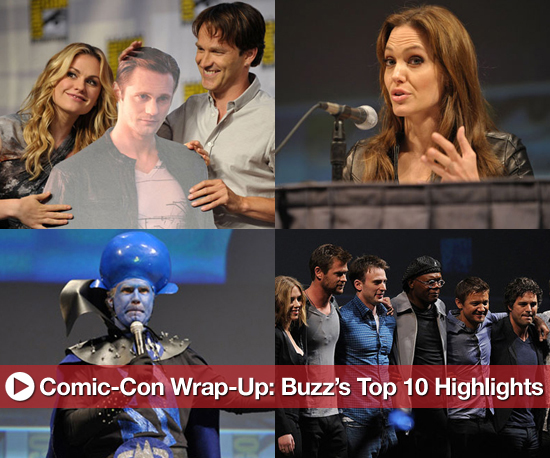 Comic-Con Wrap-Up: Buzz's Top 10 Highlights