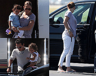 Pictures of Jennifer Lopez With Twins Max and Emme in LA