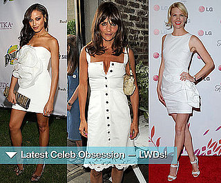 Celebrities in Little White Dresses