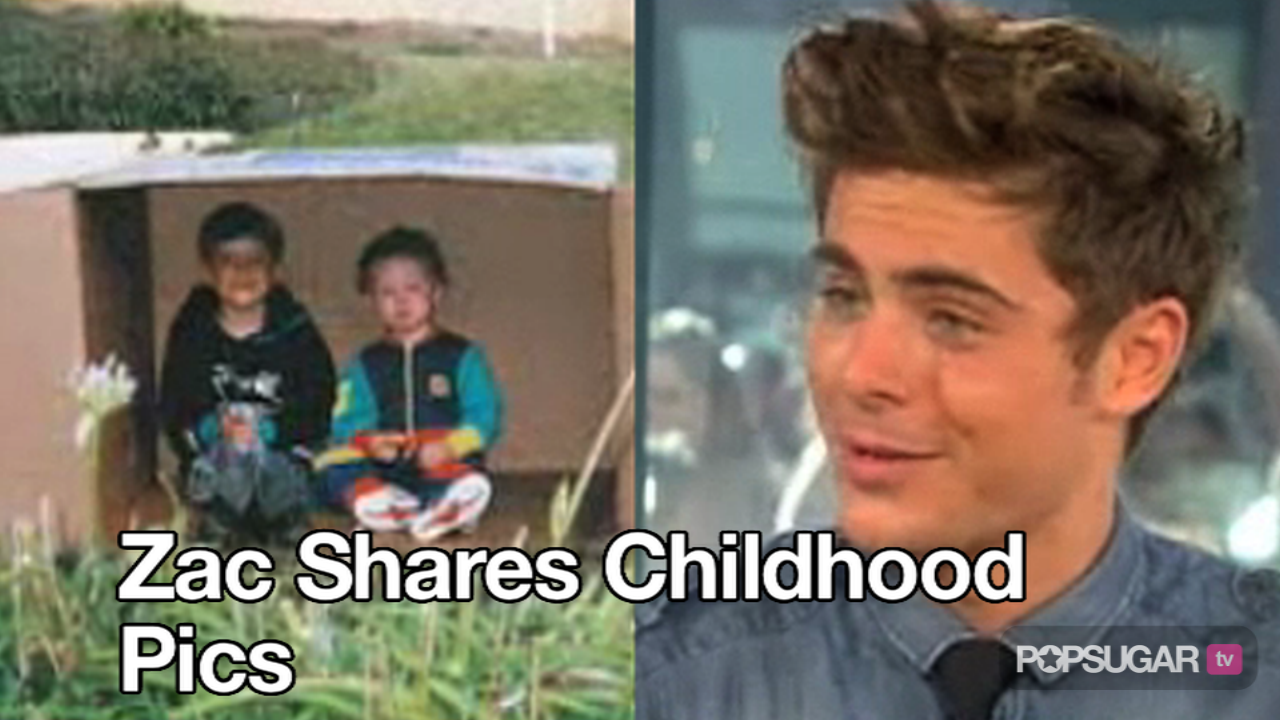 video of zac efron on the today show popsugar celebrity