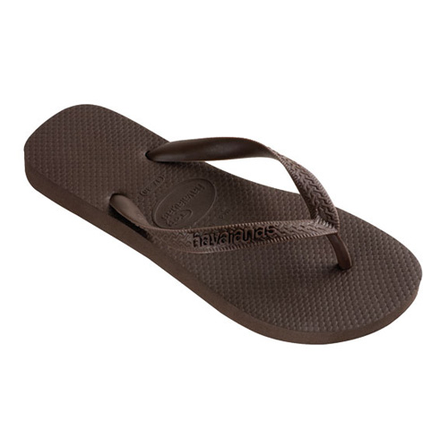 Top Chocolate Thongs, $24.95, Havaianas from General Pants