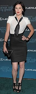 Rumer Willis Wears an Alice and Olivia Dress