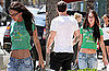 Pictures of Megan Fox In a Crop Top With Brian Austin Green