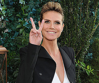 Slide Picture of Heidi Klum at Project Runway Season 8 Premiere
