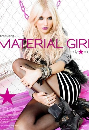 Interview With Taylor Momsen on Madonna Material Girl Collection 2010-07-28 11:00:22